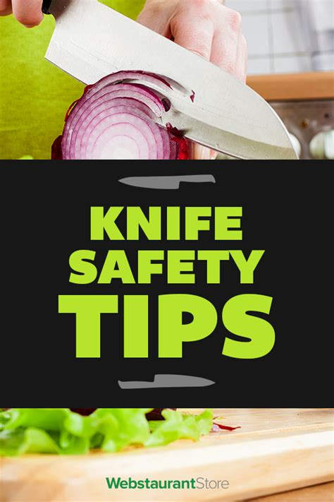 knife safety tips handling cleaning tips   kitchen