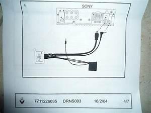M U00e9gane Ii Tuto   Pose Autoradio Sony Cdx
