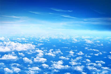 wallpaper clouds blue sky hd  nature