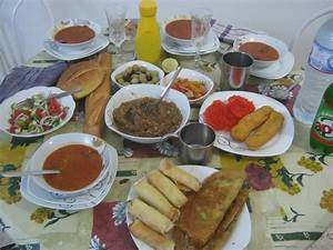 Ramadhan Table Brittany in Tunisia