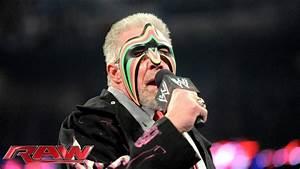 2014 WWE Hall of Famer Ultimate Warrior speaks: Raw, April ...