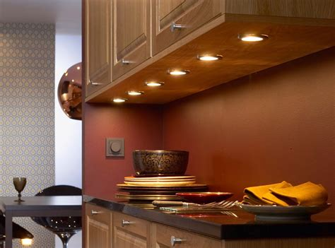 installing hardwire  cabinet lighting  wooden
