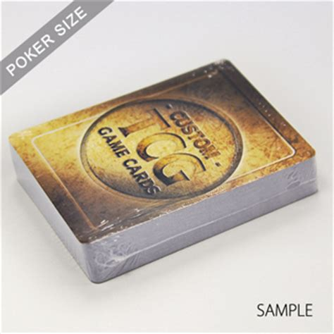 collectible card games template