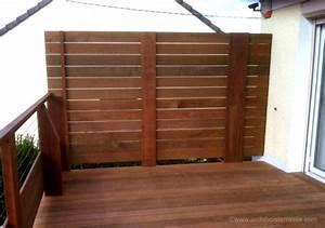 Brise Vue Opaque : protege vent pour terrasse affordable brise vue en verre ~ Premium-room.com Idées de Décoration