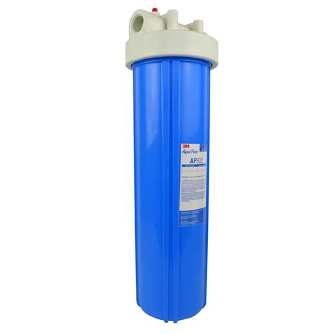 water filtration 3m aqua ap802 whole house water filter