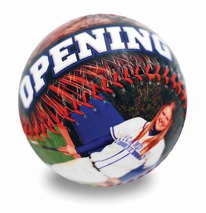 Softball Personalized Ball Fullsize Balls Sports