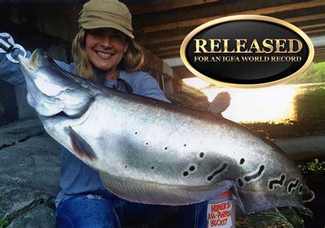 fish record knife fishing january igfa catches total nicky three
