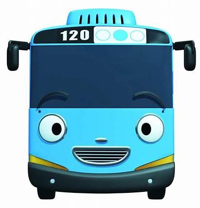 Tayo Bus Gambar Kartun Animasi Mobil Character