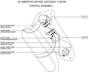 the 1962 fender jazz seymour duncan