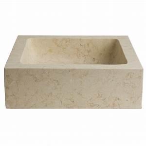Lavabo En Pierre Naturelle : lavabo en pierre salle de bain 12 vasque a poser pierre ~ Premium-room.com Idées de Décoration