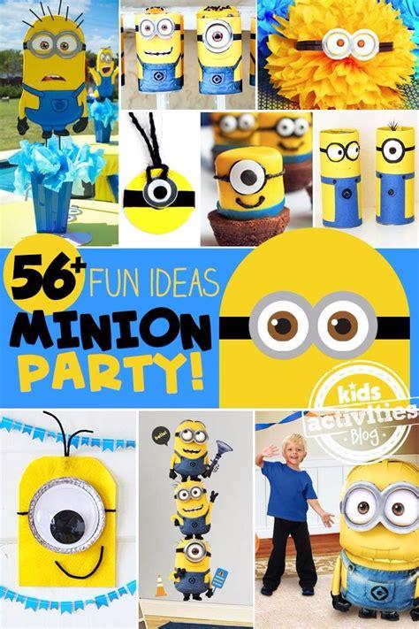 fun minion party ideas kids activities