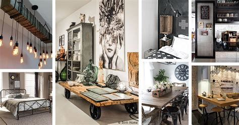 32 Industrial Style Kitchens That Will Make You Fall In Love : 36 Best Industrial Home Decor Ideas And Designs For 2019