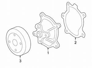 Pontiac G6 Engine Water Pump Pulley  Liter  Motors