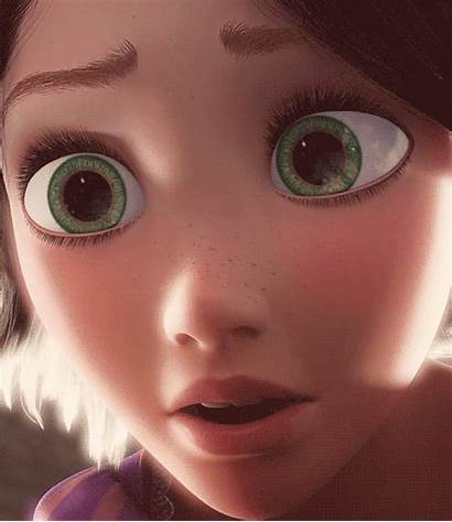 Rapunzel Eyes Tangled Disney Reflection Princess Close