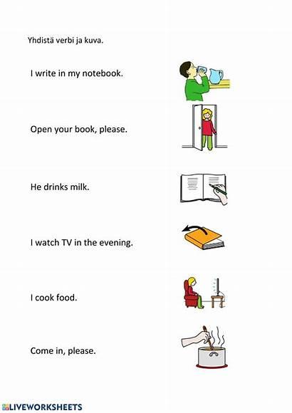 Sentences Worksheet Match Worksheets Link