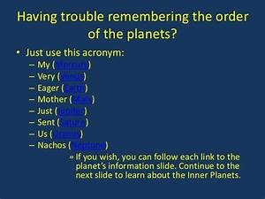 Planets Acronym (page 4) - Pics about space