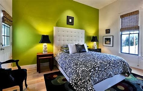 Desain Kamar Tidur Warna Hijau Cerah  Desain Rumah