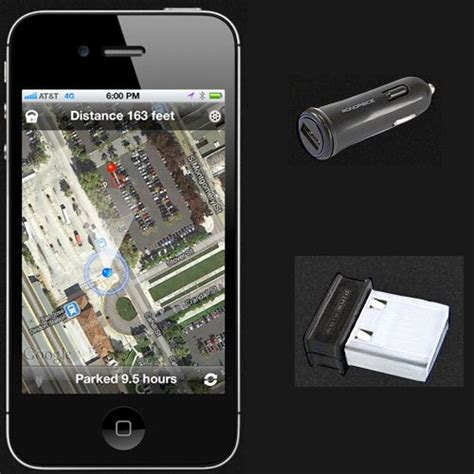 Find My Car Apps For Iphone by Find My Car Smarter For Iphone The Gadgeteer