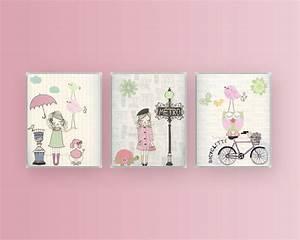 Nursery art baby room decor girl wall by designbymaya