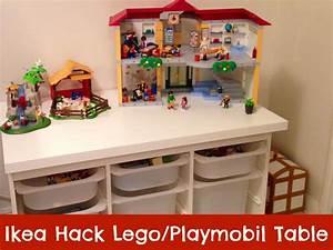Spielzeug Aufbewahrung Ikea : ikea hack table lego playmobil kinderzimmer ~ Michelbontemps.com Haus und Dekorationen