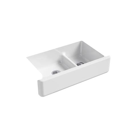 Kohler Whitehaven Sink 36 by Kohler Whitehaven Undermount Farmhouse Apron Front Cast