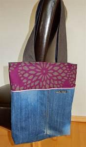 Bettwäsche Selber Nähen : tasche aus jeans und bettw sche bag made from old pair of jeans and bed linen upcycling ~ Yasmunasinghe.com Haus und Dekorationen