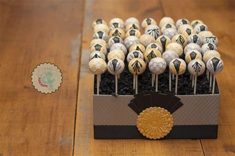 lottie  lil blog art deco cake pops