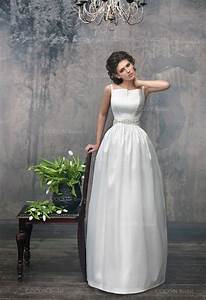simple chic wedding dress from mikado designer dress unique With chic wedding dresses