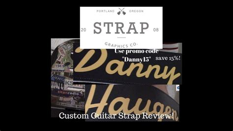 Guitar Straps Coupon by Graphics Co Custom Leather Guitar Straps Review And