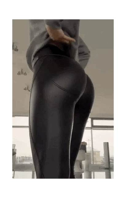 Leather Legs Dresses Latex Shiny Pants Tight