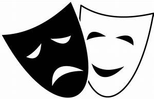 Drama Mask Clip Art - Cliparts.co