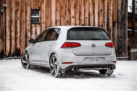 Vw Gti Review by Review 2018 Volkswagen Golf Gti Autobahn Canadian Auto