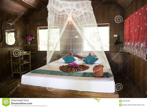 bungalow  traditional thai wooden house thailand stock photo image  home