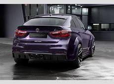 BMW X6 With Lumma Body Kit Tries Porsche Amethyst
