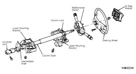 1994 Ford Ranger Steering Column Diagram by Ford Tilt Steering Column Diagram Imageresizertool