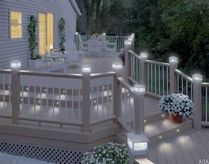Deck Safe Place Neighborhood Fun Best Deck Lighting Options