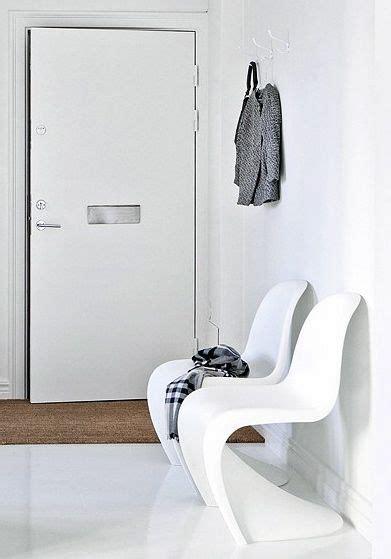 Minimalistische Einrichtung Des Kinderzimmersminimalist Modern Style White Yellow Bedroom Ideas by Panton Chair Esszimmerstuhl Wei 223 Popfurniture