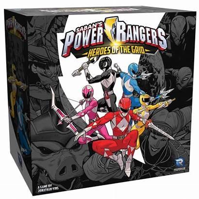Rangers Power Heroes Grid Studios Tabletop Renegade