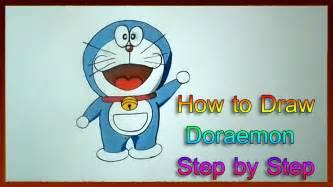 draw doraemon step  step   draw cartoon