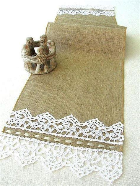 cool decorating ideas  burlap  lace  desired home