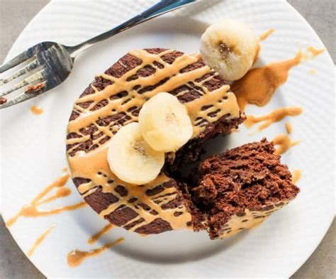 5minute Singleserving Chocolate Peanut Butter Banana