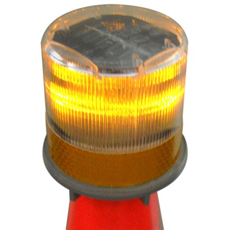 compact solar warning beacon