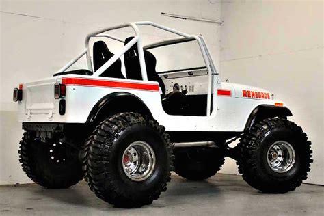 cj jeep wrangler this 1980 jeep cj7 renegade restomod is the business