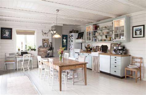 agencement cuisine en l cuisine rustique moderne idées qui réveilleront votre