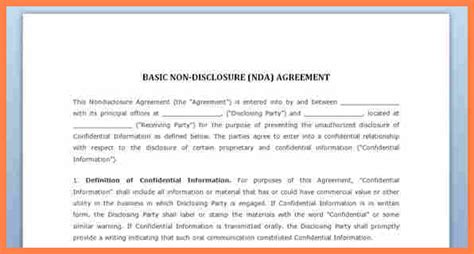 simple confidentiality agreement template purchase