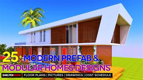 modern prefab  modular homes design ideas  floor plans pictures youtube