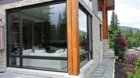 Large Corner Windows  Exterior View Contemporary