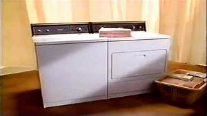 1990 Kenmore Washer And Dryer Appliance Commercial