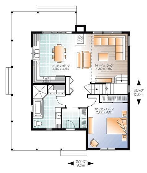 country house floor plans floor plan of country vacation house plan 76364