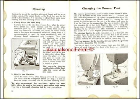 elna supermatic  sewing machine instruction manual